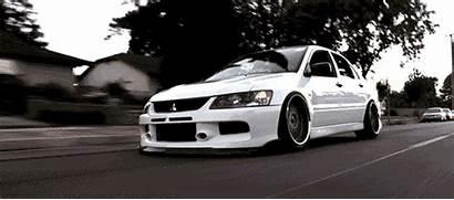 Evo Mitsubishi Lancer Gifs Evolution Evos Cars