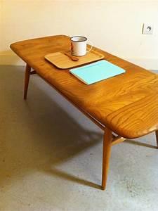 Table Basse Or : table basse vintage ~ Teatrodelosmanantiales.com Idées de Décoration