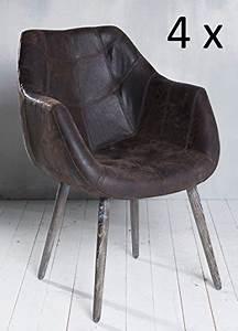Esszimmerstühle Leder Braun : braun esszimmerst hle aus leder und weitere esszimmerst hle g nstig online kaufen bei m bel ~ Buech-reservation.com Haus und Dekorationen