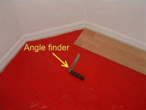 Installing Laminate at 45 Degree Angle