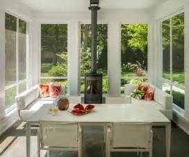 Heating A Screened Porch by 35 Beautiful Sunroom Design Ideas