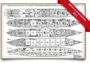 rms titanic deck plans oceanliner com