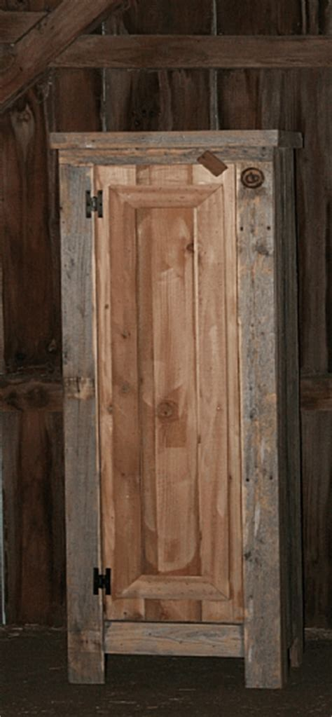 Reclaimed Wood Kitchen Pantry ? Barn Wood Furniture