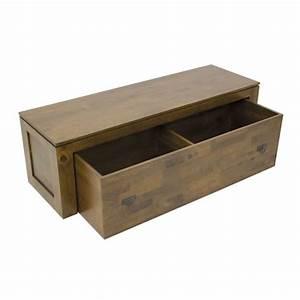 Banc De Rangement Pas Cher : but banc coffre banc coffre de rangement en bois sculpt ~ Dailycaller-alerts.com Idées de Décoration