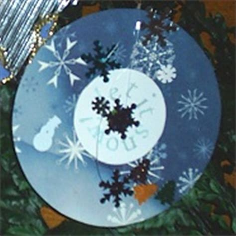 craft for christmas using old cds let it snow cd ornament ornament crafts dot