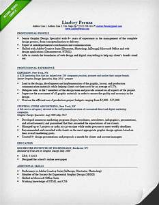 graphic design resume sample writing guide rg With designer resume format