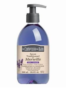 Le Comptoir Du Bain : le comptoir du bain olive lavender marseille traditional soap 500ml ~ Teatrodelosmanantiales.com Idées de Décoration
