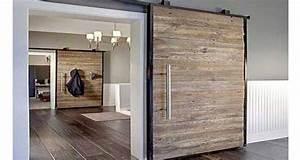deco recup 6 facons de creer une cloison coulissante With porte de douche coulissante avec meuble pas cher salle de bain