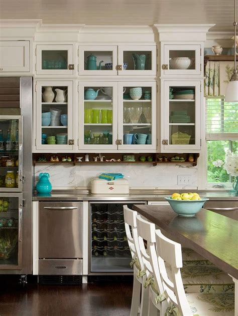 what to display in glass kitchen cabinets home interior design kitchen cabinets stylish ideas for 2153