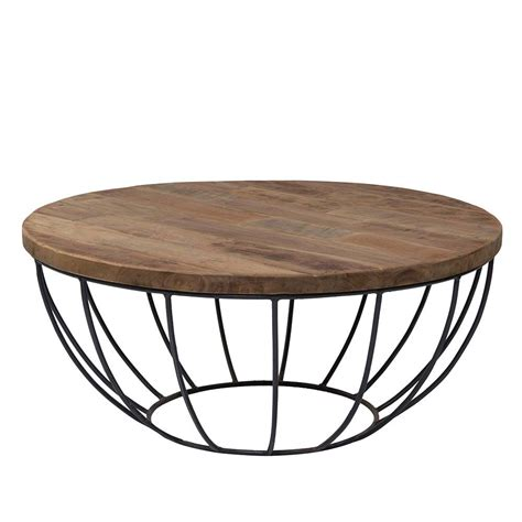 table basse industrielle ronde table basse industrielle ronde