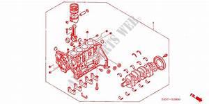 Partial Engine  Diesel  For Honda Cars Civic 1 7se 3 Doors