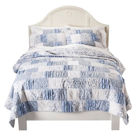 shabby chic patchwork bedding simply shabby chic 174 bohemian patchwork quilt target