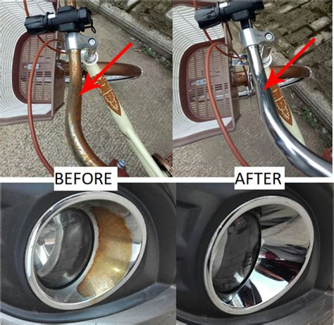 rust metal remover remove acid hydrogen peroxide nalaiandco stain water cleaning steel tool