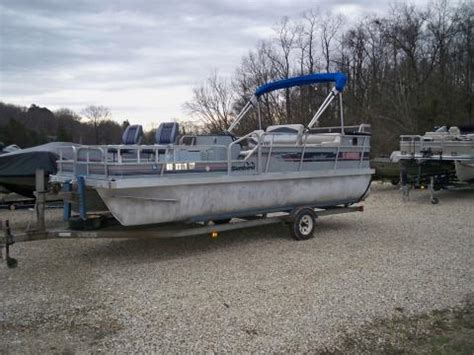 Lowe Boats Phone Number by 1990 Lowe 20 Ft Fishing Pontoon Www Eberlinboats