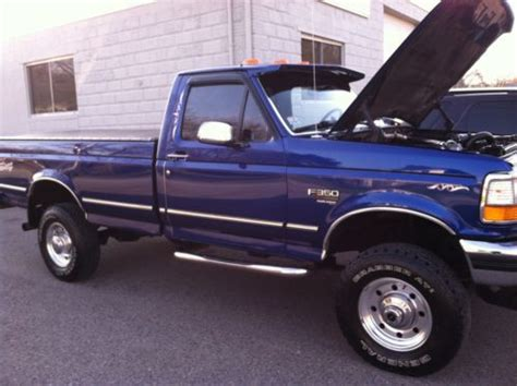 Purchase used IMMACULATE 1997 FORD F350 7.3 POWERSTROKE ...