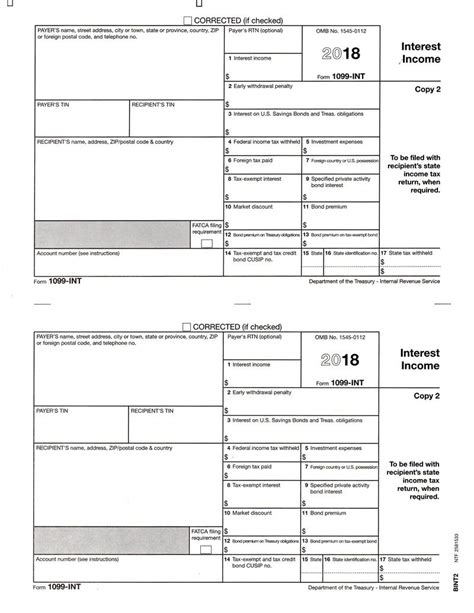 form 1099 int interest income recipient s state copy 2