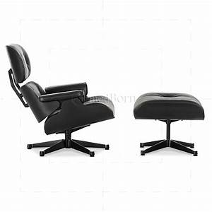 Eames Replica Deutschland : eames style lounge chair and ottoman black leather black wood replica ~ Sanjose-hotels-ca.com Haus und Dekorationen