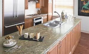 laminate countertops kitchen cabinets and countertops With best brand of paint for kitchen cabinets with michigan state wall art