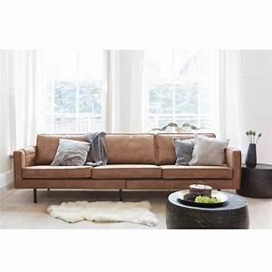 Canapé 4 Places : canap 3 4 places en cuir bronco par ~ Teatrodelosmanantiales.com Idées de Décoration