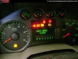 1997 F150 Lights 2010 Ford F250 Instrument Cluster Warning Lights Check