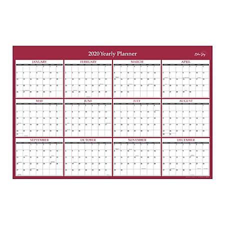 blue sky laminated calendar office depot