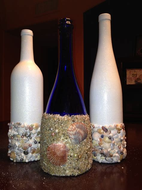 Decorate Wine Bottles - 185 best images about wine bottle decorations on