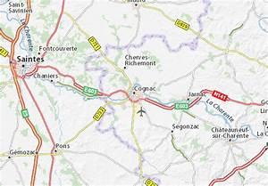 Michelin Karten Frankreich : karte stadtplan cognac viamichelin ~ Jslefanu.com Haus und Dekorationen