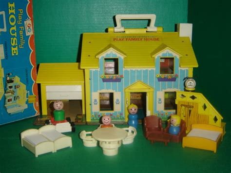 vintage  fisher price  people  play family