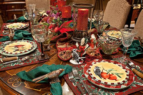christmas decor mediterranean kitchen chicago