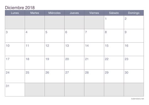 calendario diciembre   imprimir icalendarionet