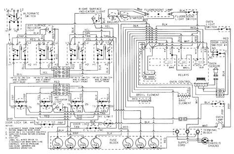 wiring diagram   maytag range