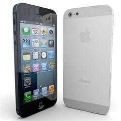 new iphone 5 3d new apple iphone 5 model