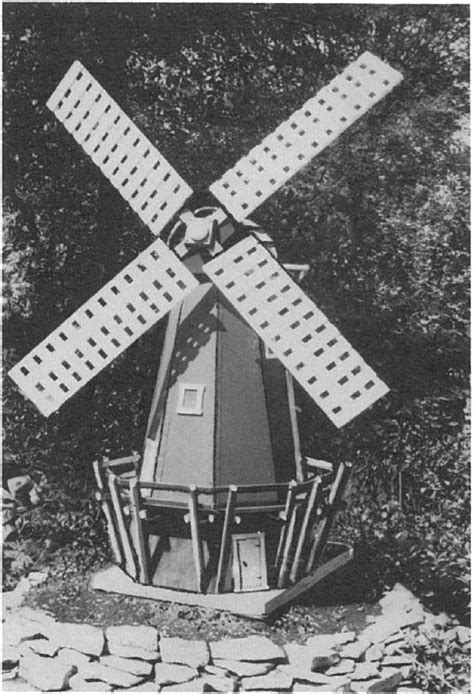 dutch windmill woodworking plan woodworkersworkshop