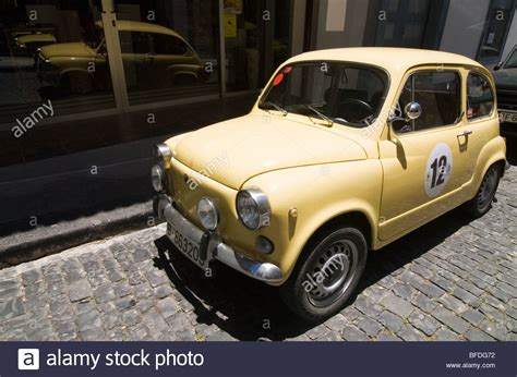 Santa Fiat by Classic Fiat 500 Cinquecento In Stock Photos Classic