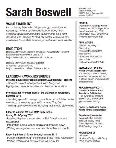 How Make My Resume by 7 Resume Design Principles That Will Get You Hired