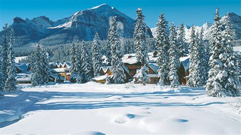 family winter vacation spots   canadian rockies