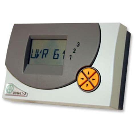 uvr61 3 r solarregler ta einkreis solarregelung ans 21 analog inkl f 252 hler pt1000 bis ta