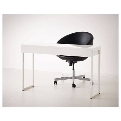 best 197 burs desk high gloss white 120x40 cm ikea