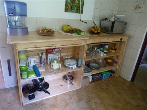 plan de travail cuisine la pince en palette plan de travail de cuisine