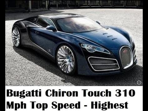 Chiron Top Speed by Bugatti Chiron Touch 310 Mph Top Speed Live