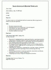 Printable Resume Sles by Sales Resume Template Free Printable Word Templates