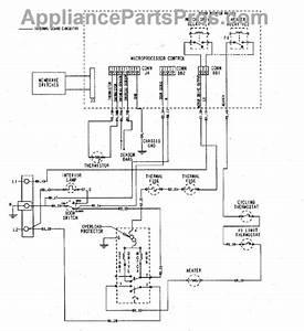 Parts For Maytag Mde5500ayw  Wiring Information Parts
