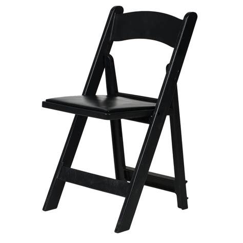 csp r 101 bk folding chair w vinyl padded seat 1 000 lb