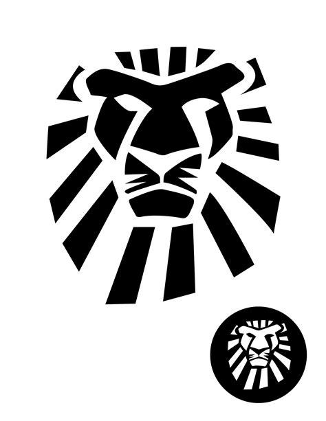 Lion King Musical Logo Pumpkin Stencil Pumpkin Pattern