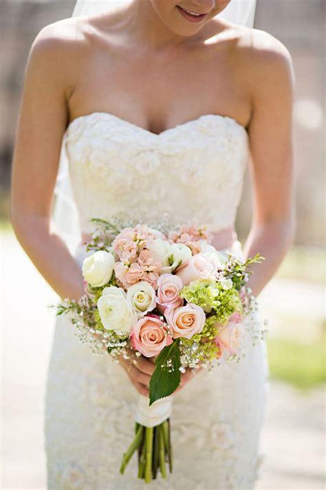 Vintage Pink And Mint Wedding Pink Rose Bouquet Rose