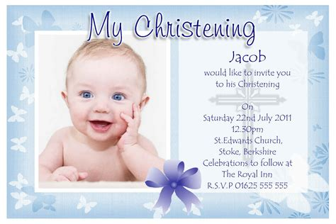 baptism invitation baptism invitations  boys