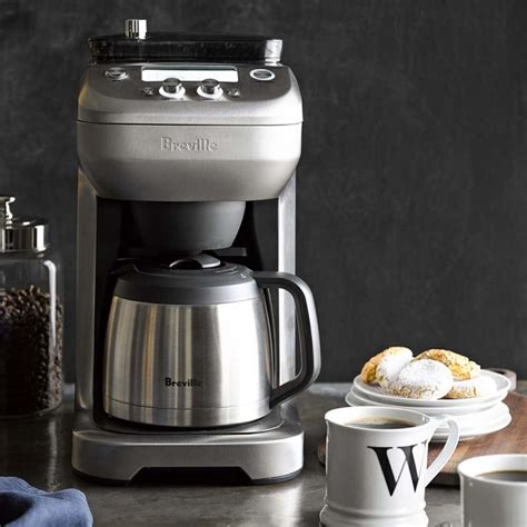 But, it is not as easy as ordering a cup of coffee to buy the best coffee maker with a grinder. Breville Grind Control Coffee Maker | Williams Sonoma