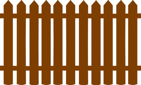 Brown Fences Clip Art At Clker.com