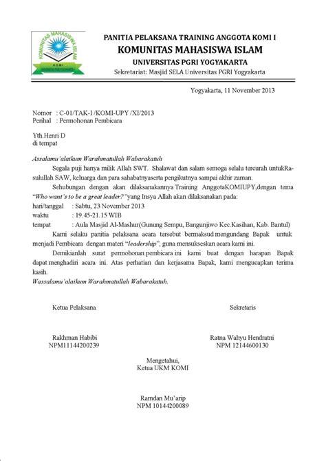 Contoh Surat Resmi Permintaan Barang by Contoh Surat Permohonan Bantuan Barang Ke Dinas