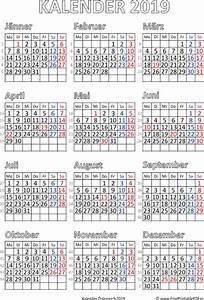 Jahreskalender 2019 A4 : kalender 2019 sterreich zum ausdrucken pdf drucken ~ Kayakingforconservation.com Haus und Dekorationen